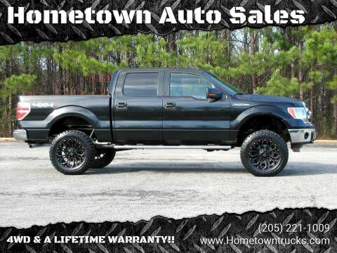 Ford F-150 XL SuperCrew 5.5-ft. Bed 4WD 2014