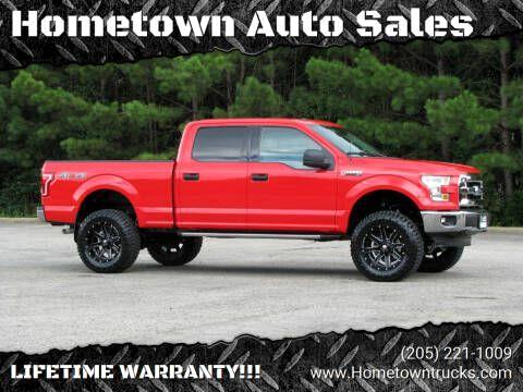 Ford F-150 XL SuperCrew 5.5-ft. Bed 4WD 2016