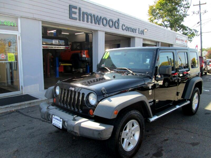 Jeep Wrangler Unlimited Sport 4WD 2010