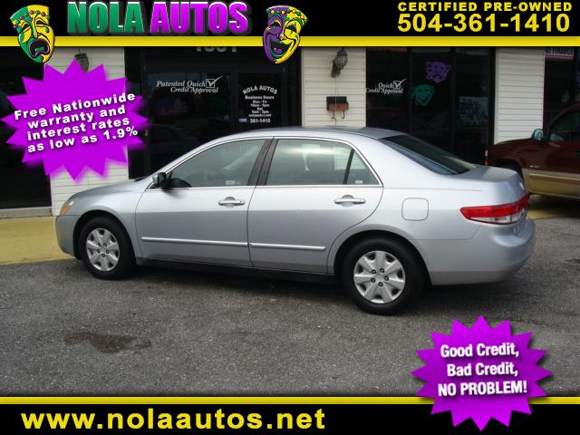 2004 Honda Accord Sdn LX Auto