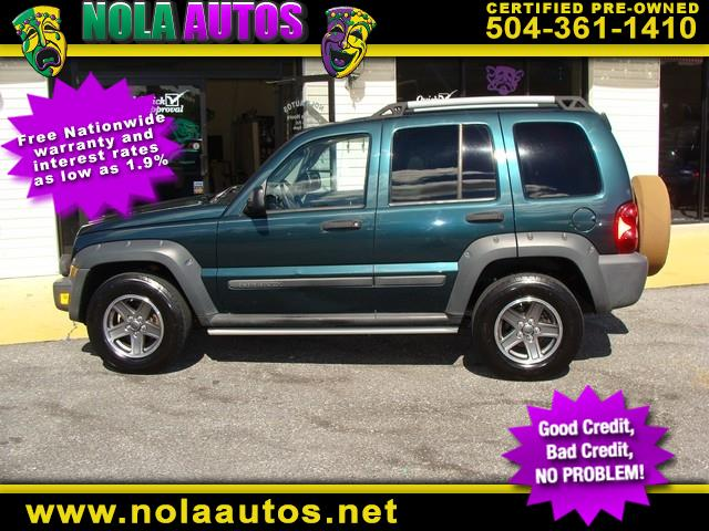 2005 Jeep Liberty 4dr Renegade