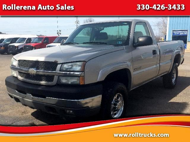 used 2004 chevrolet silverado 2500hd reg cab 4wd for sale in east palestine oh 44413 rollerena. Black Bedroom Furniture Sets. Home Design Ideas