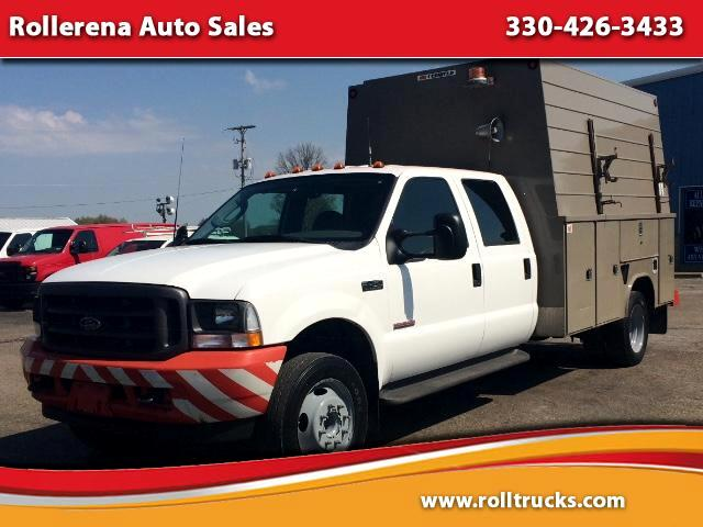 "2003 Ford F-450 SD Crew Cab 200"" WB 84"" CA XL"