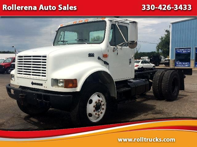 2001 International 4900 Cab Chassis