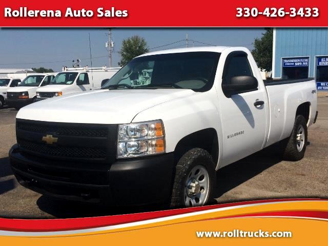 2011 Chevrolet Silverado 1500 4WD Regular Cab