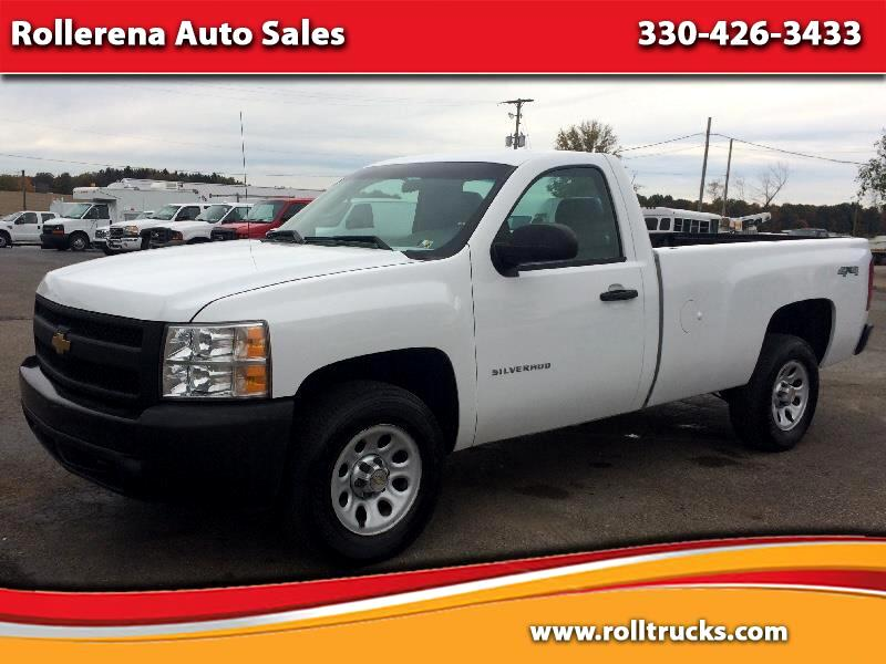 2011 Chevrolet Silverado 1500 Long Bed 4WD