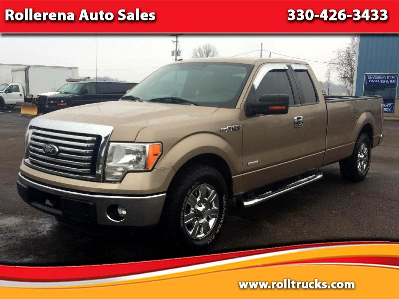 "2012 Ford F-150 2WD SuperCab 163"" XLT"