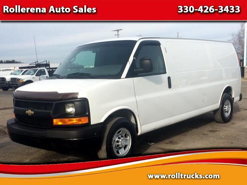 2014 Chevrolet 3500 Extended Cargo Van