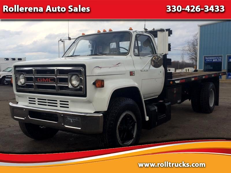 1986 GMC 7000 Flatbed Truck