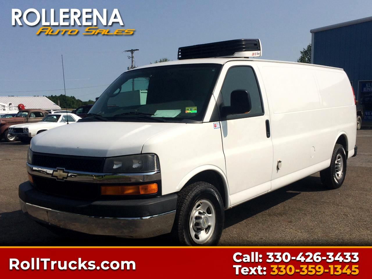 2010 Chevrolet 3500 Reefer Van
