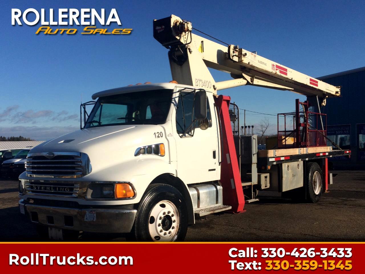 2001 Sterling M7500 Crane Truck