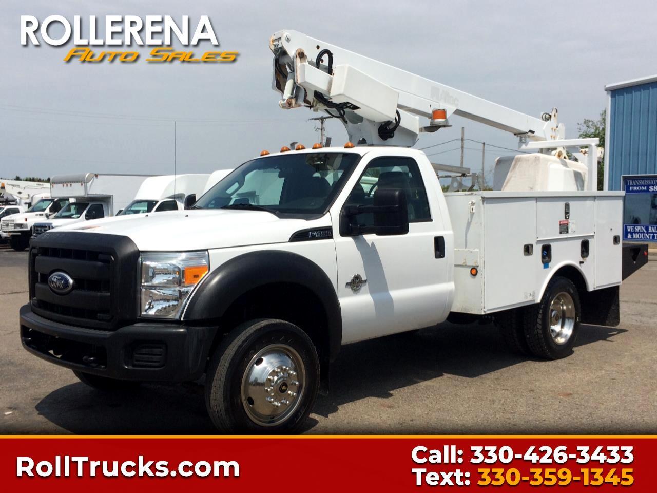 2011 Ford F-450 Bucket Truck