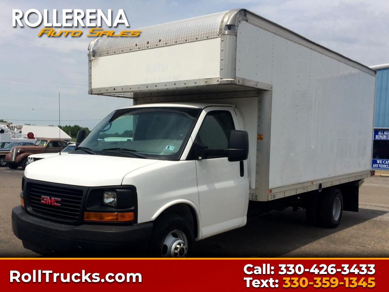 2011 GMC Savana Commercial Cutaway Box Truck