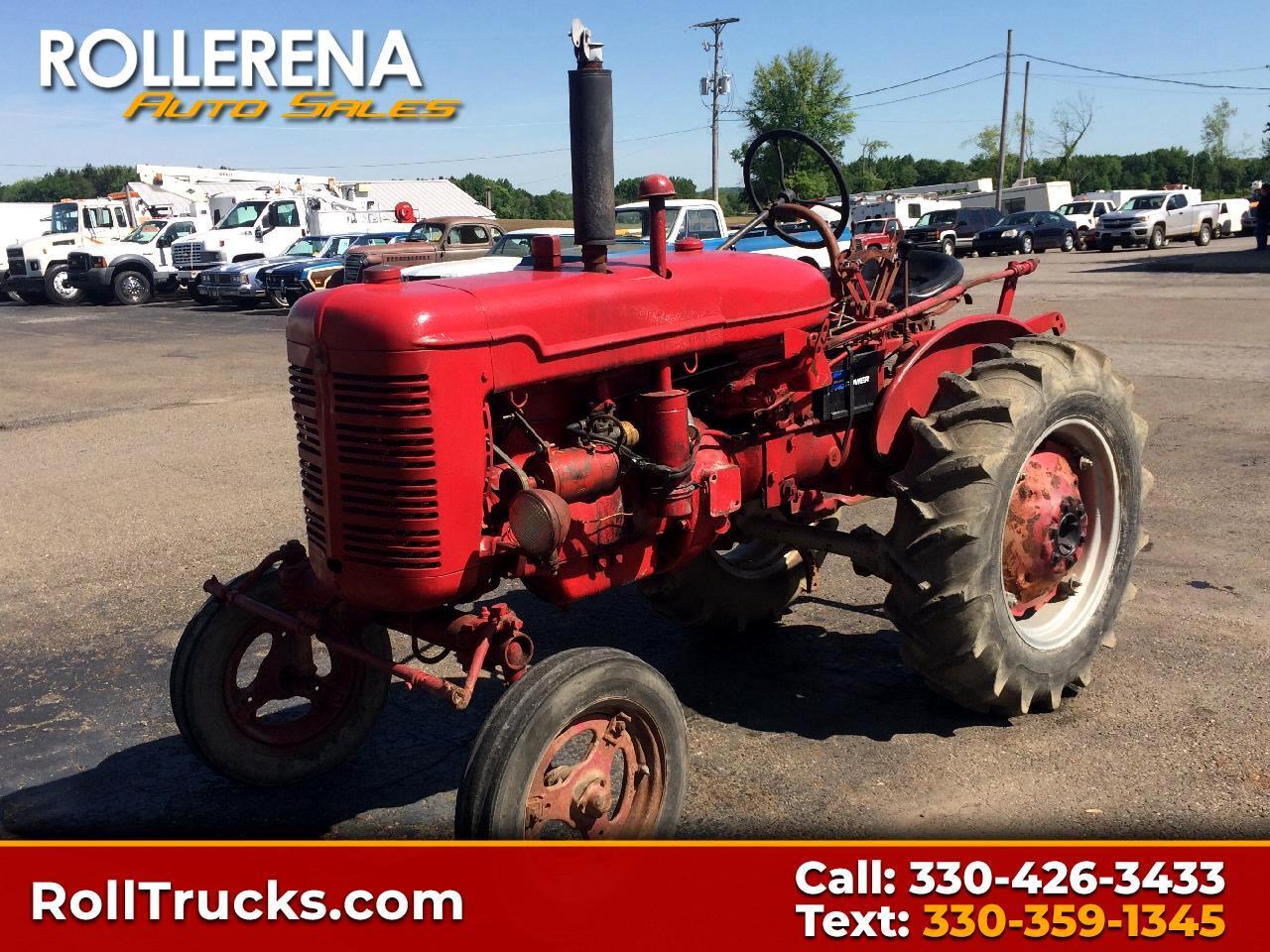 1952 Farmall Super A Tractor