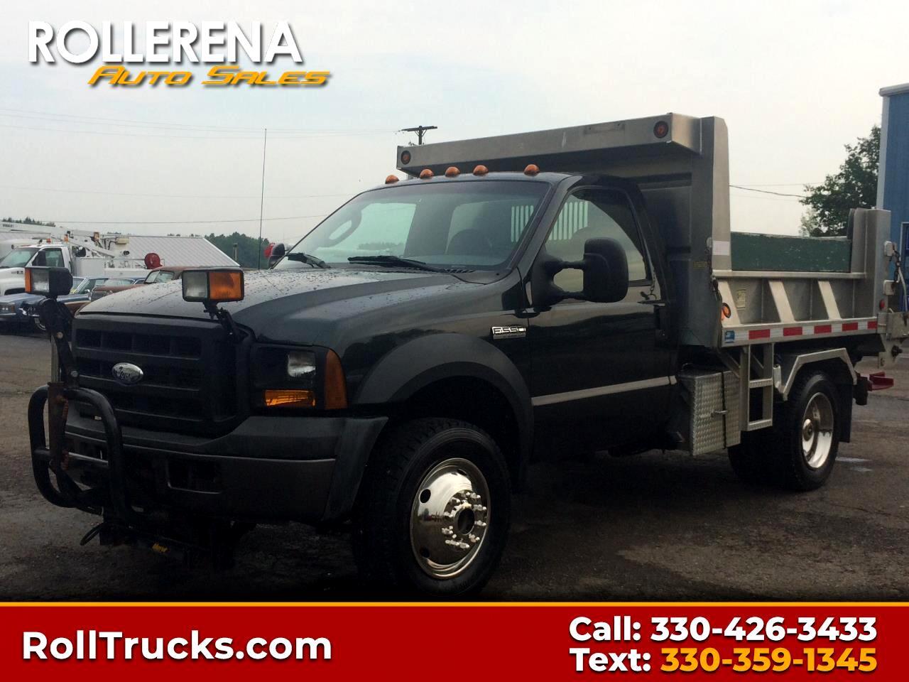 2006 Ford F-550 Dump Truck