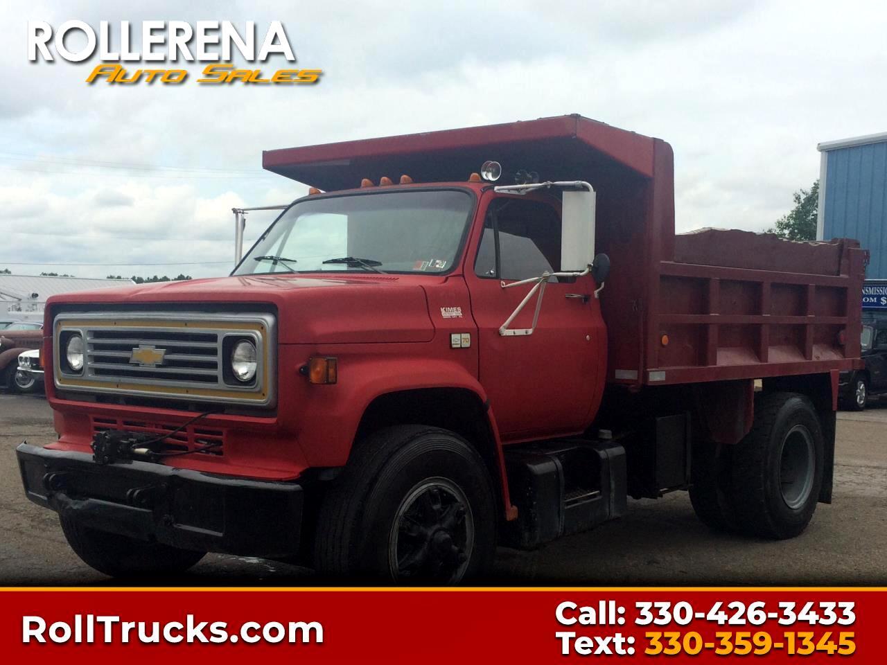 1990 Chevrolet c-70 Dump Truck