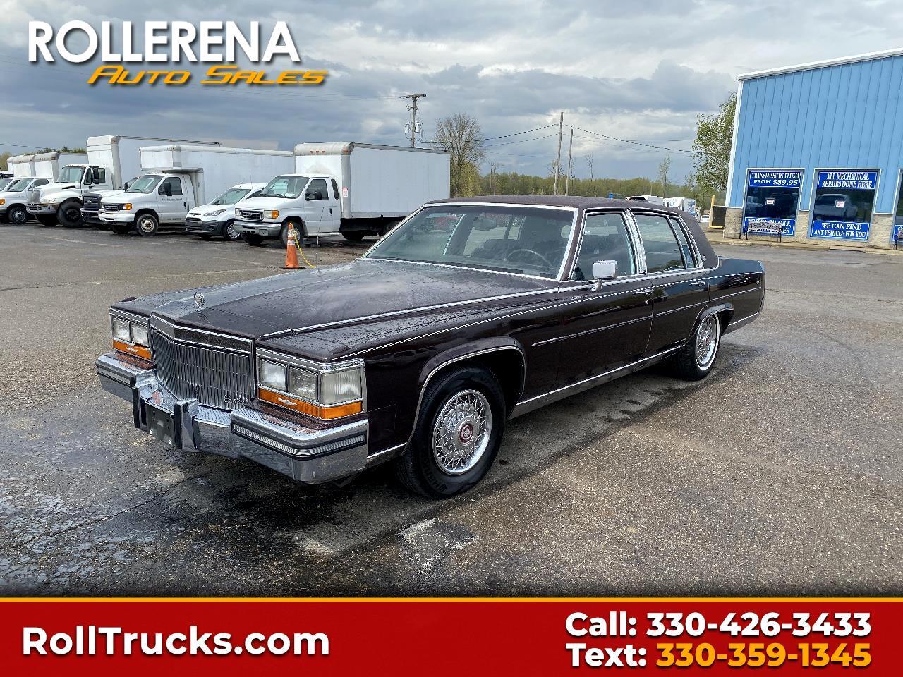 Cadillac Brougham 4dr Sedan 1989