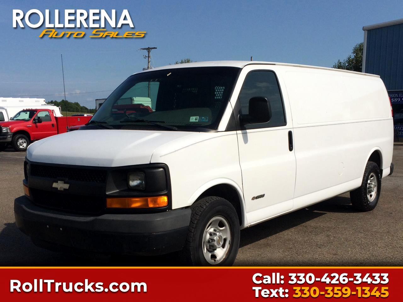2003 Chevrolet 3500 Extended Cargo Van RWD