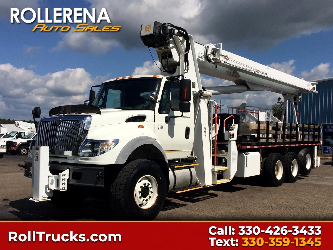 2007 International 7600 Crane Truck