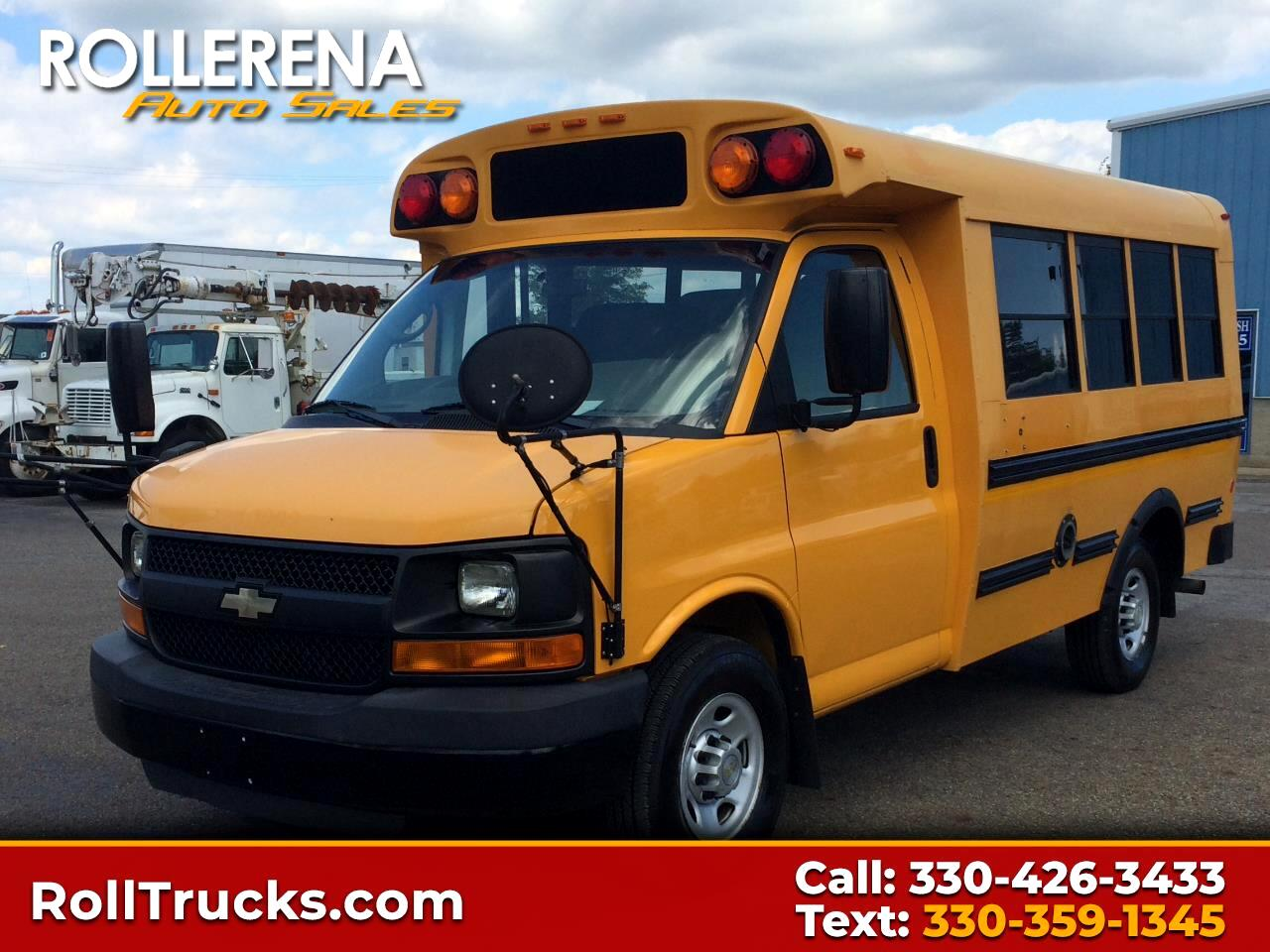 2010 Chevrolet 3500 School Bus RWD