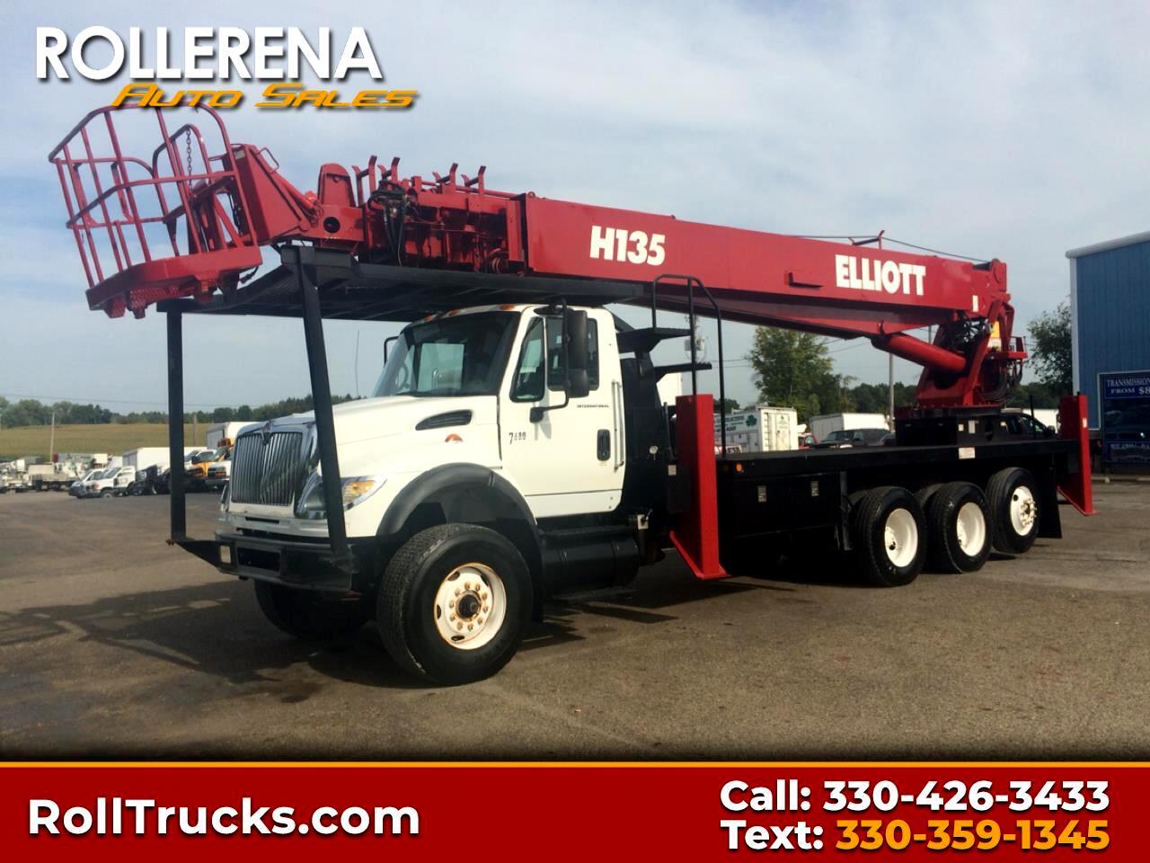 2007 International 7600 Elliott Bucket Truck