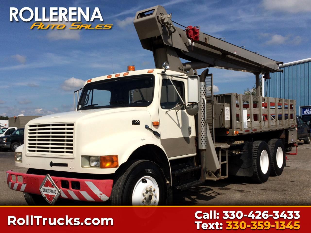 1994 International 4900 Crane Truck