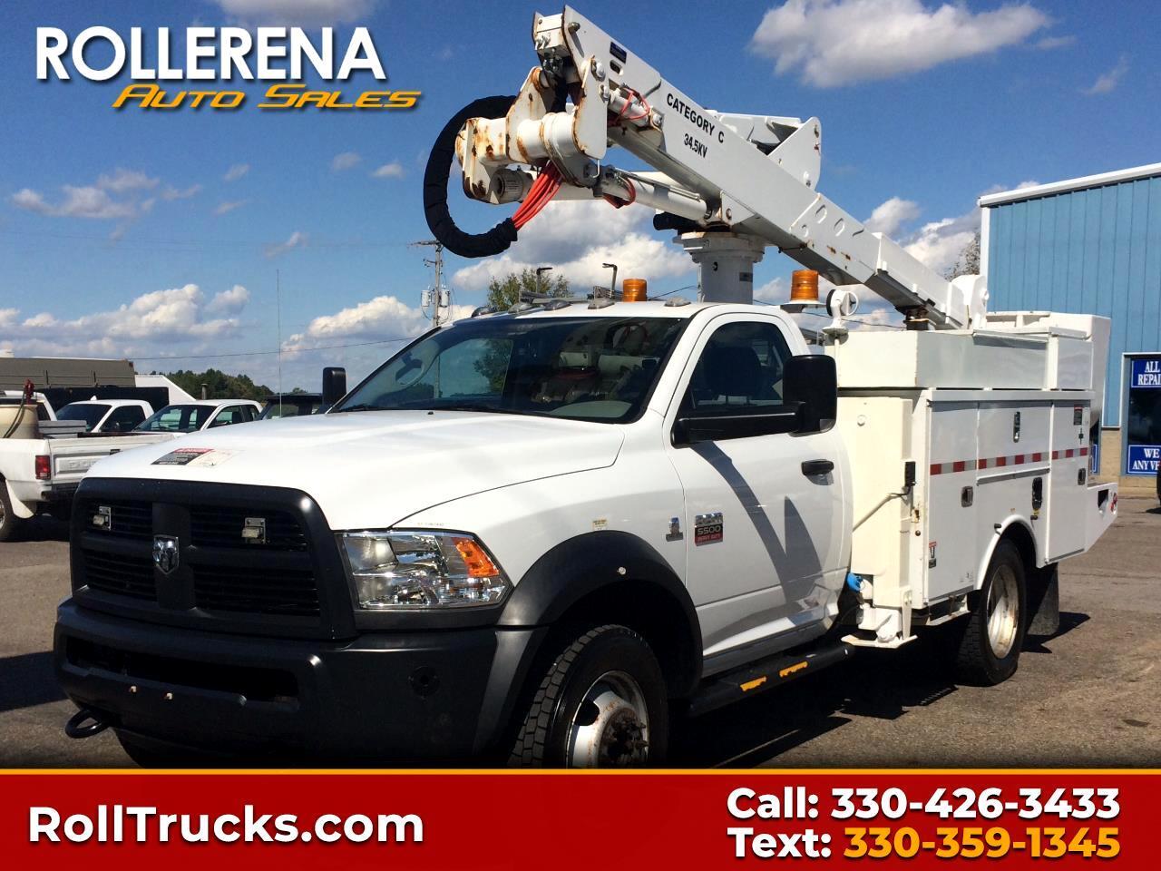 2012 RAM 5500 Bucket Truck 4WD