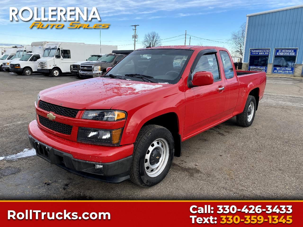 Chevrolet Colorado 2WD Ext Cab Work Truck 2012