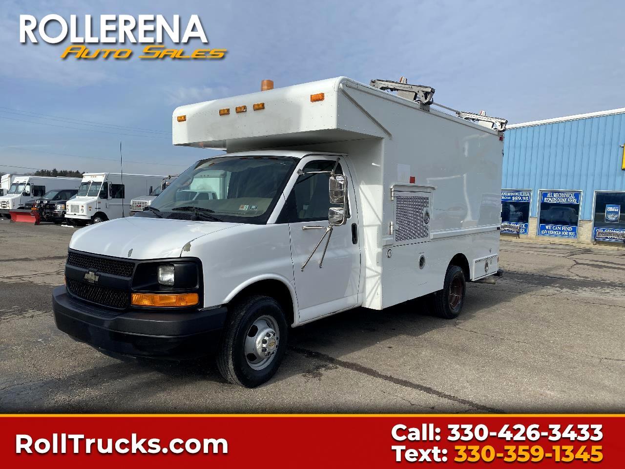"Chevrolet Express Commercial Cutaway 139"" WB C7A DRW 2005"