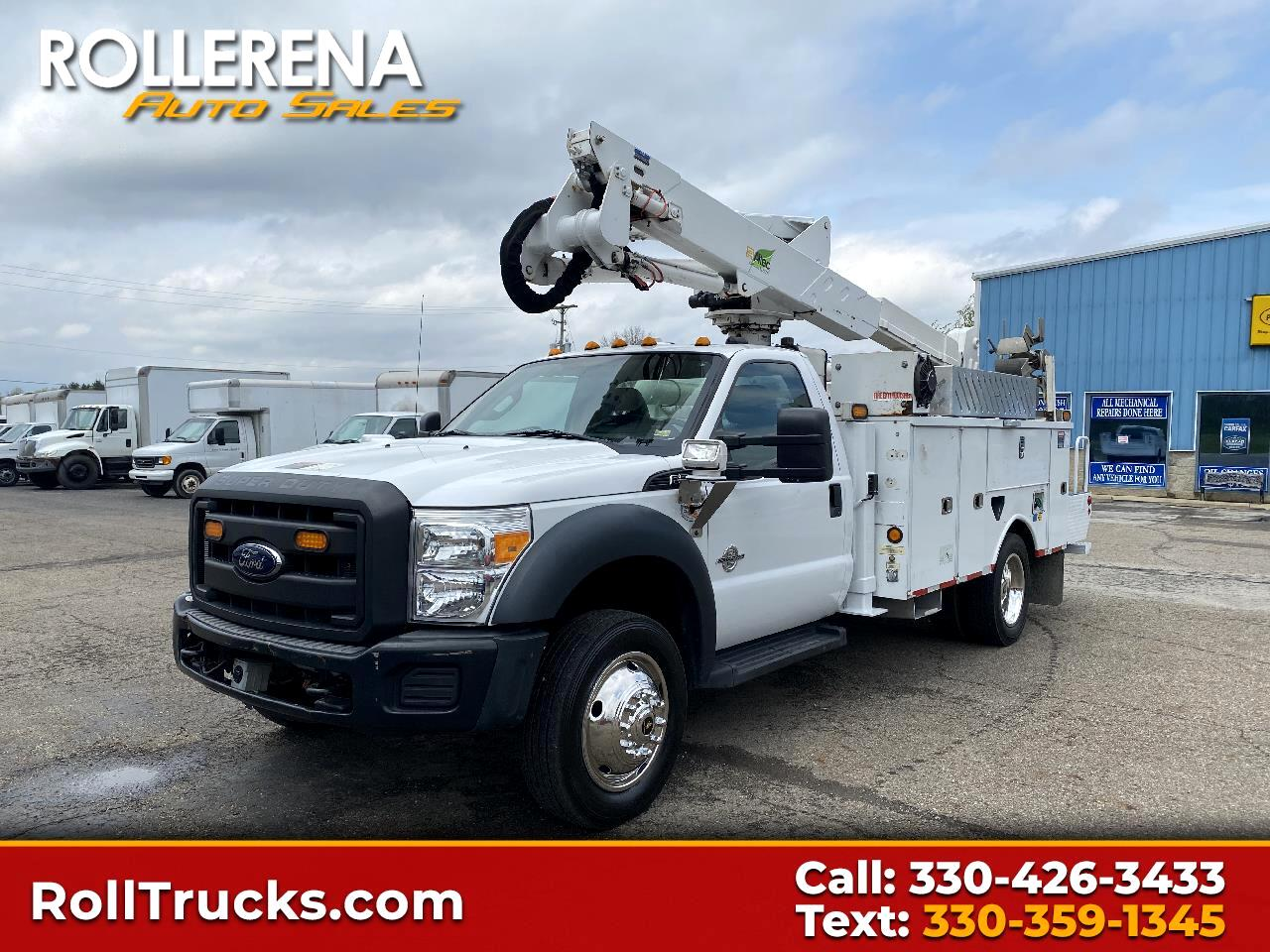 "Ford Super Duty F-550 DRW 2WD Reg Cab 165"" WB 84"" CA XL 2012"