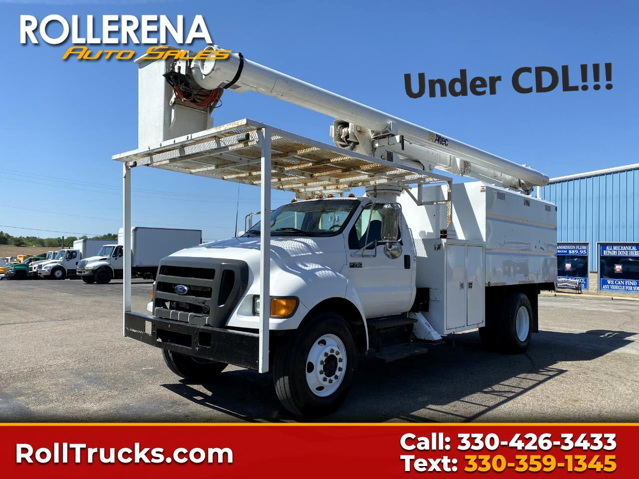 Ford Super Duty F-750 Straight Frame Reg Cab XLT 2006