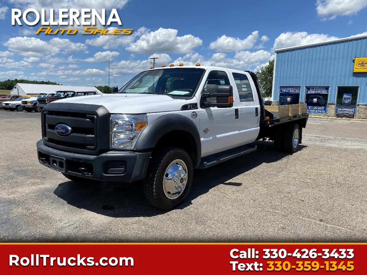 "Ford Super Duty F-550 DRW 4WD Crew Cab 200"" WB 84"" CA XL 2016"