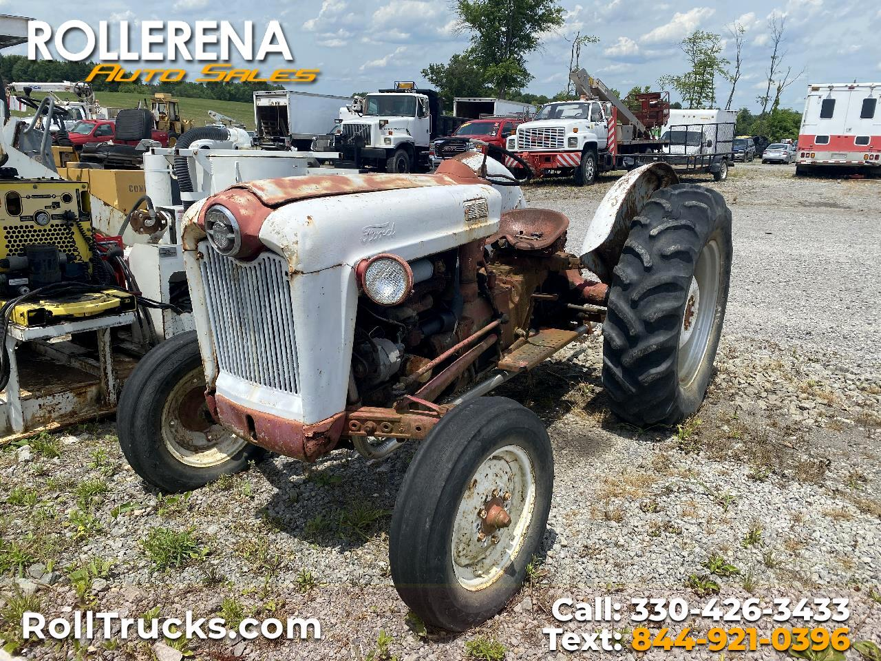 Ford Tractor  1956