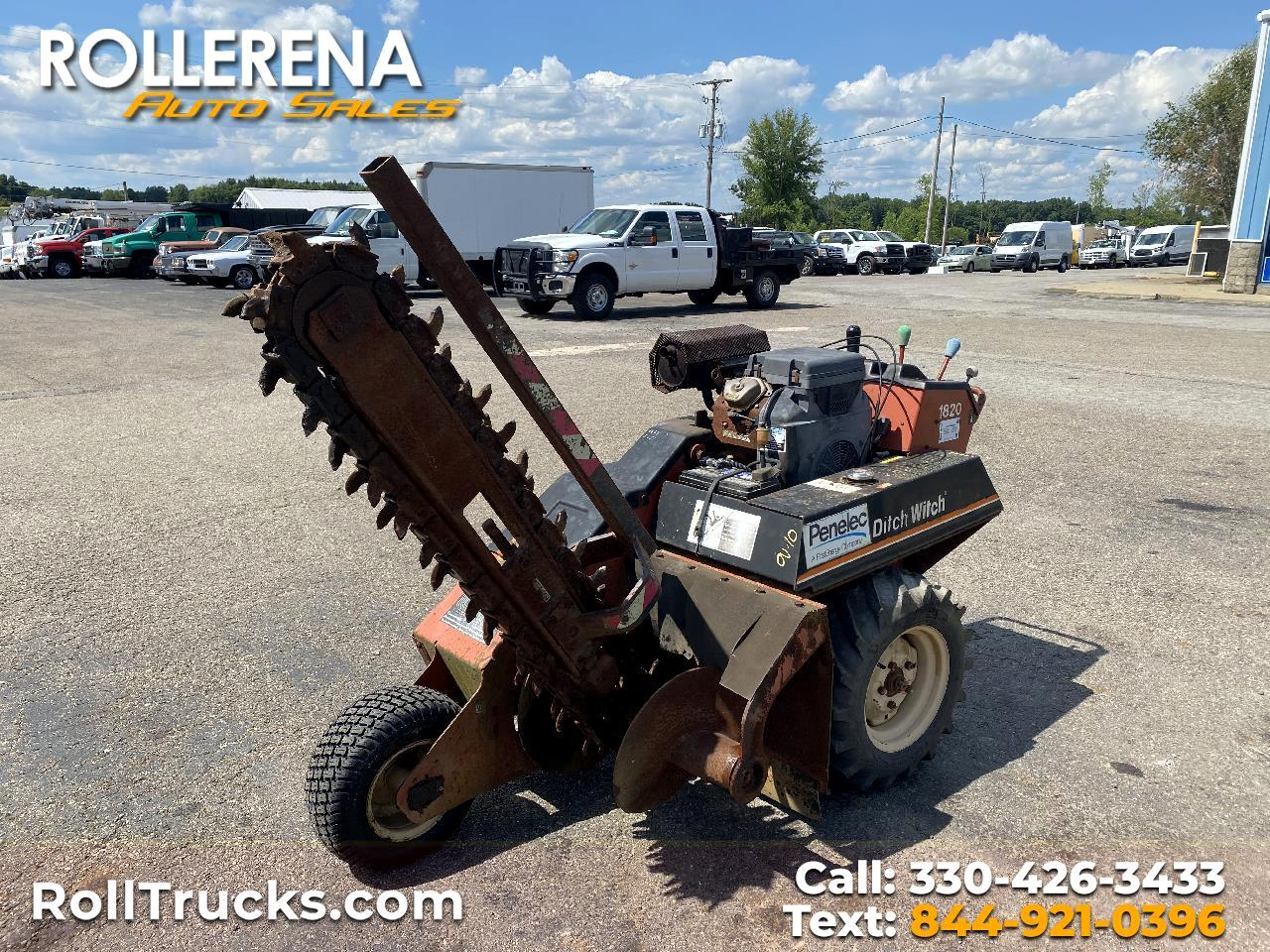 Ditch Witch 1820H  2001