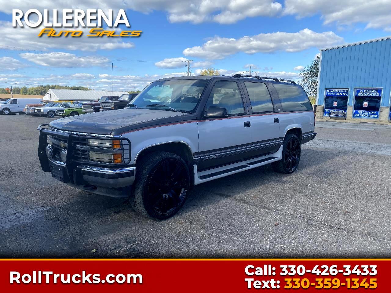 Chevrolet Suburban 1500 4WD 1993