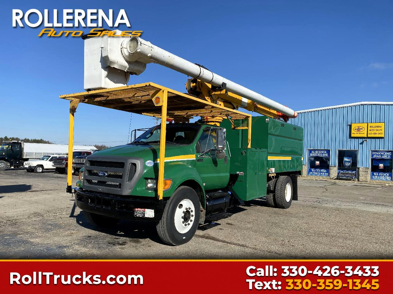 Ford Super Duty F-750 Straight Frame Reg Cab XL 2011
