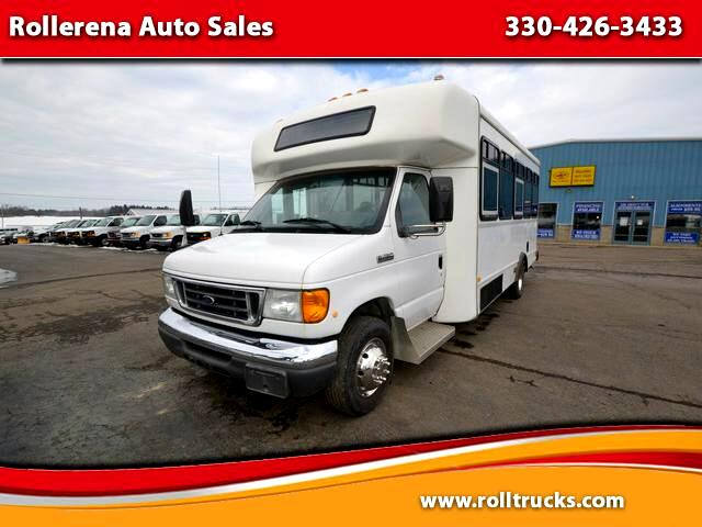 2007 Ford E-450 Shuttle Bus Econoline DRW
