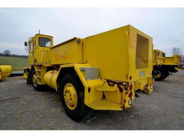 1984 Walters VDUS Plow Truck Plow Truck