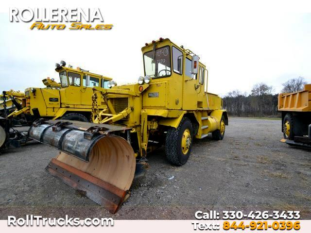 Walters VDUS Plow Truck  1984