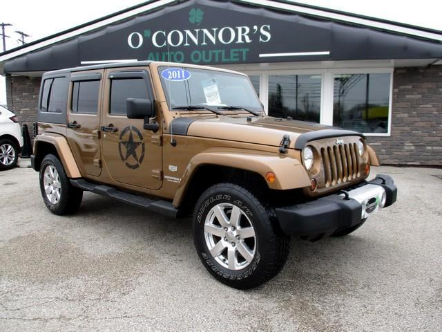 2011 Jeep Wrangler UNLIMITED SAHARA 70TH ANNIVERSARY EDITION