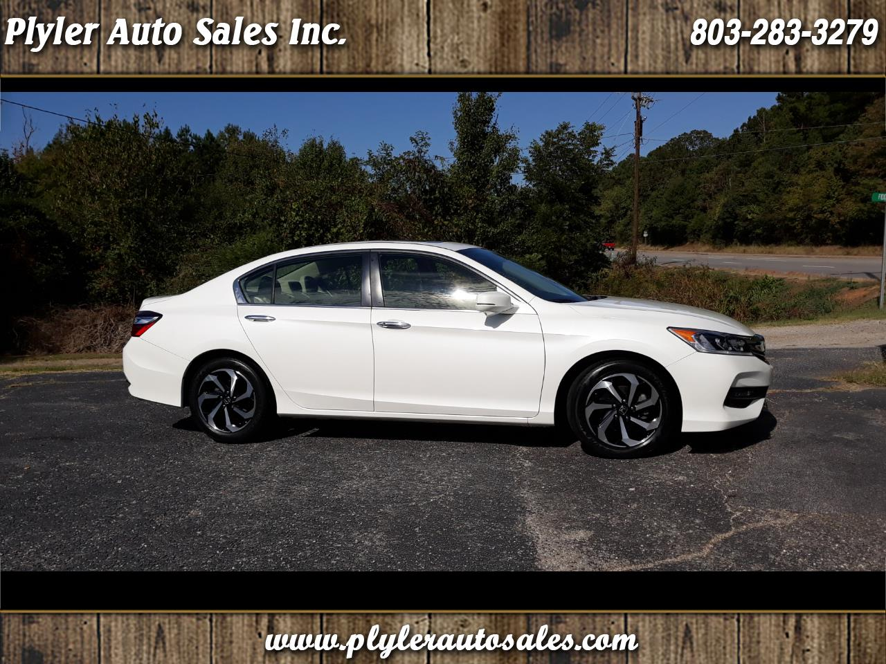 2017 Honda Accord EX-L Sedan CVT w/ Honda Sensing
