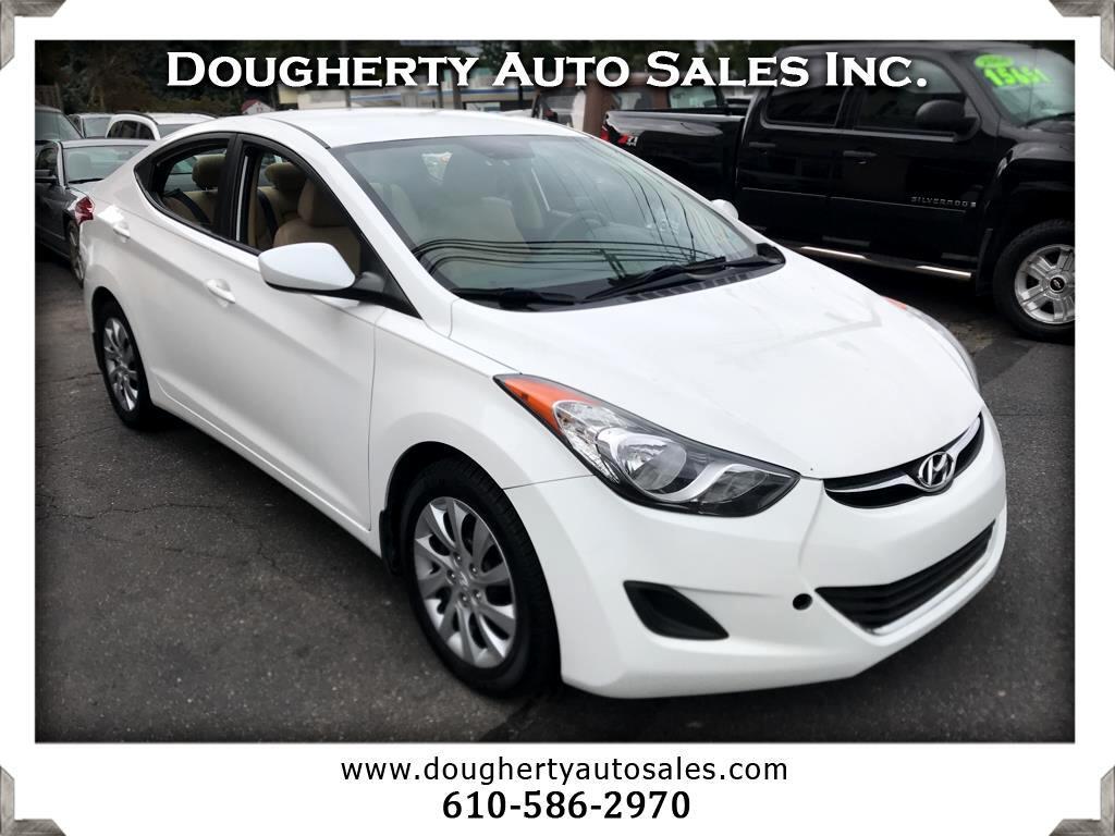2013 Hyundai Elantra 4dr Sdn Auto GLS PZEV (Alabama Plant) *Ltd Avail*