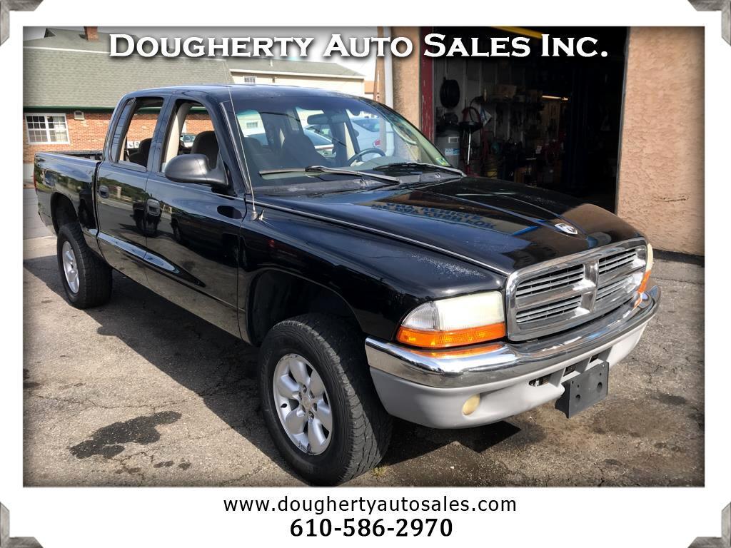 """2003 Dodge Dakota 4dr Quad Cab 131"""" WB 4WD SLT"""