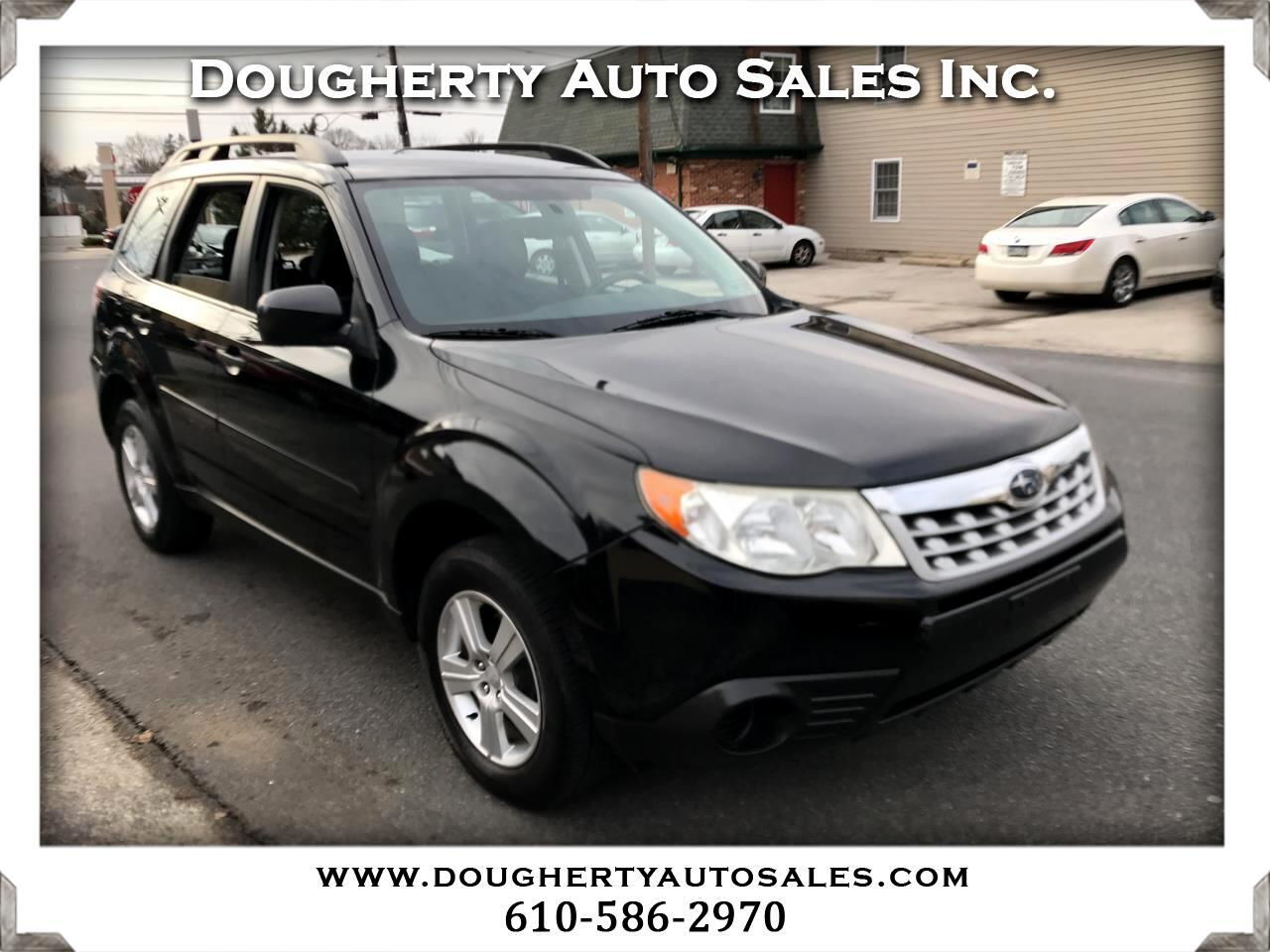 2011 Subaru Forester 4dr Auto 2.5X w/Alloy Wheel Value Pkg