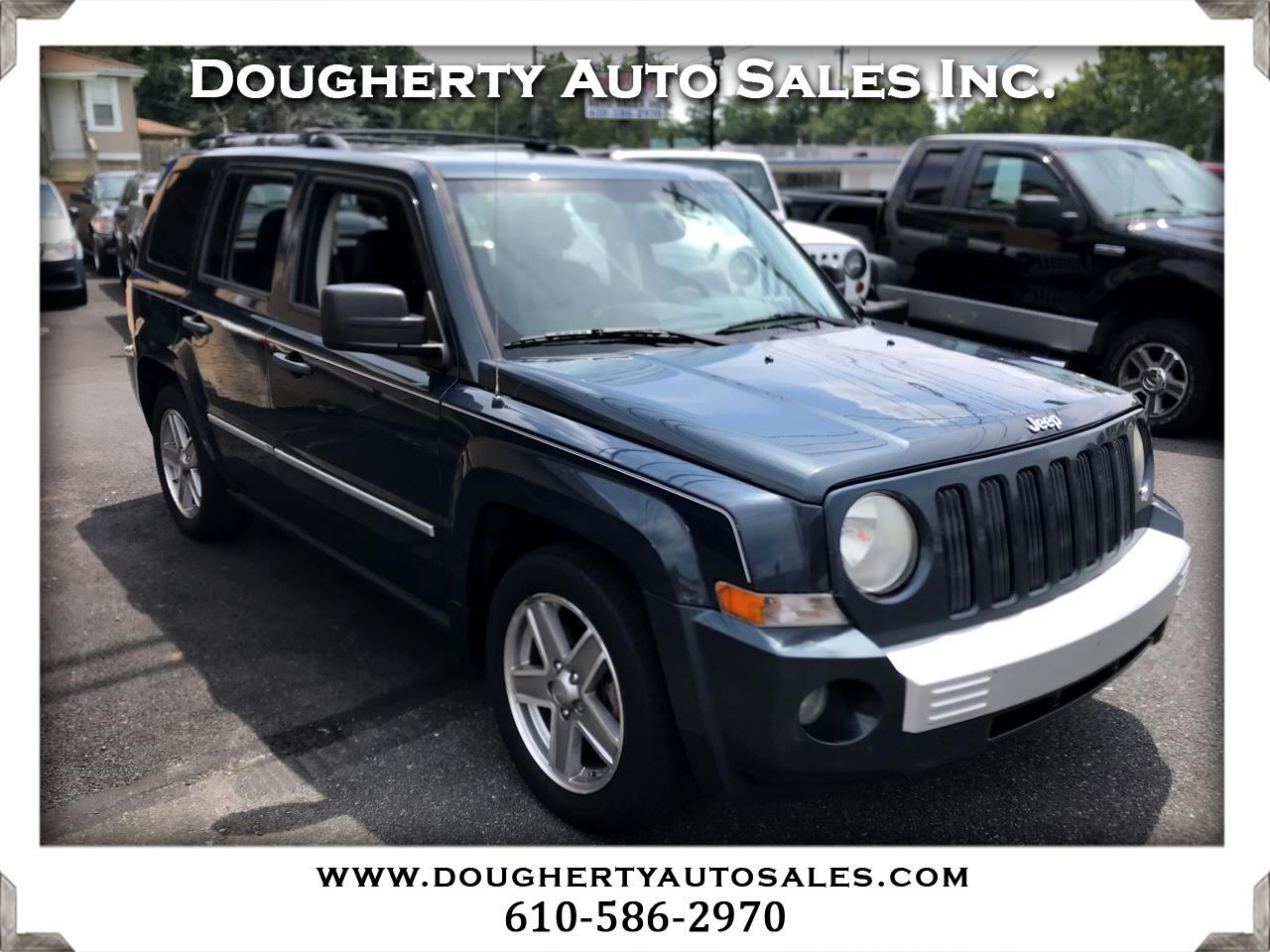 2008 Jeep Patriot 4WD 4dr Limited