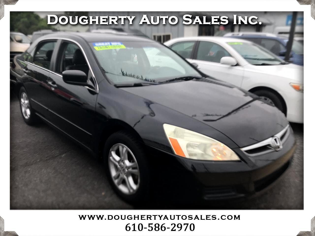 2007 Honda Accord Sdn 4dr I4 AT EX-L