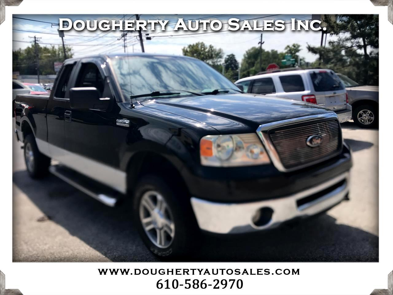"""2007 Ford F-150 4WD Supercab 133"""" Lariat"""