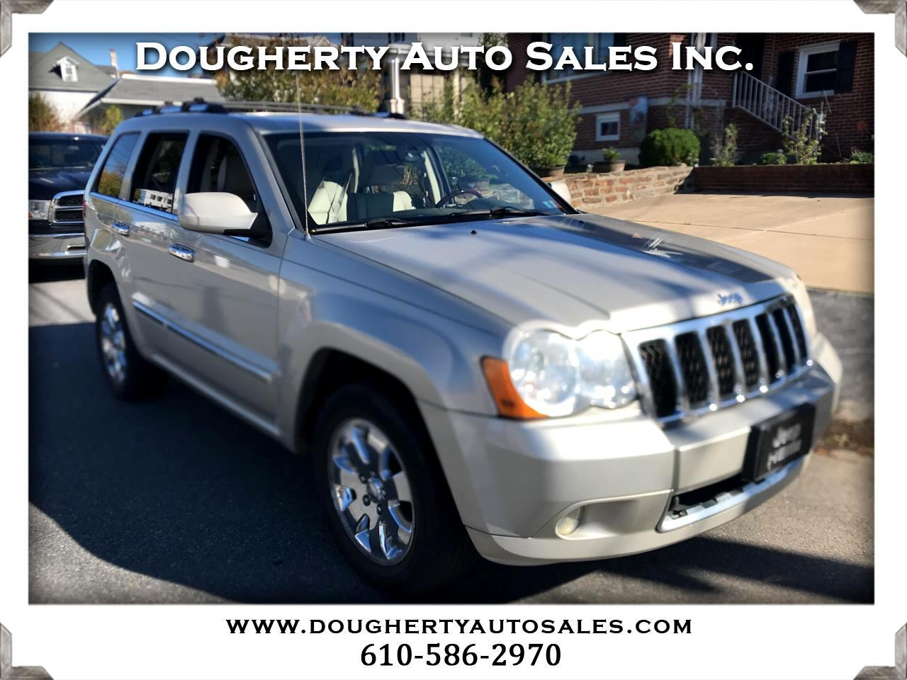 2008 Jeep Grand Cherokee 4WD 4dr Overland