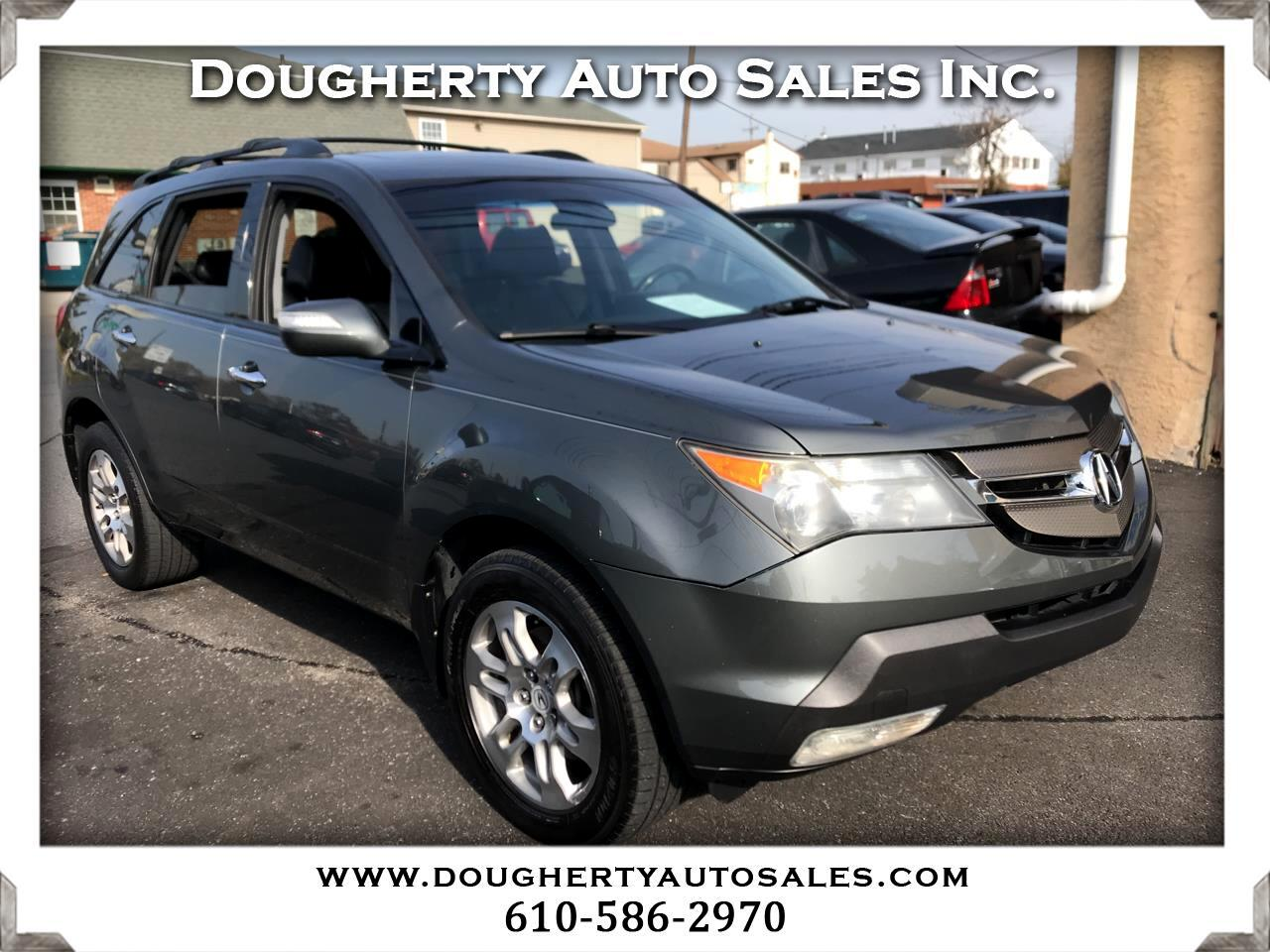 Acura MDX 4WD 4dr Tech/Entertainment Pkg 2007