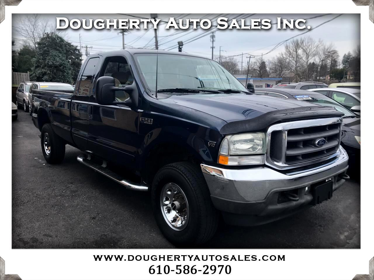 """Ford Super Duty F-250 Supercab 142"""" Lariat 4WD 2003"""